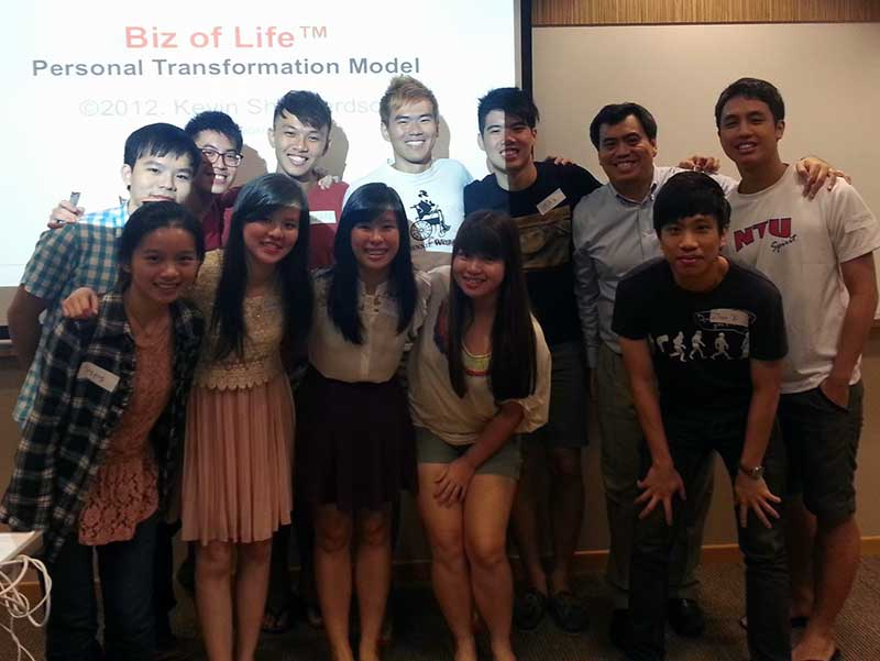 Biz of Life Leadership NTU Jan2013