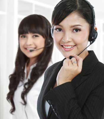 Customer service officers